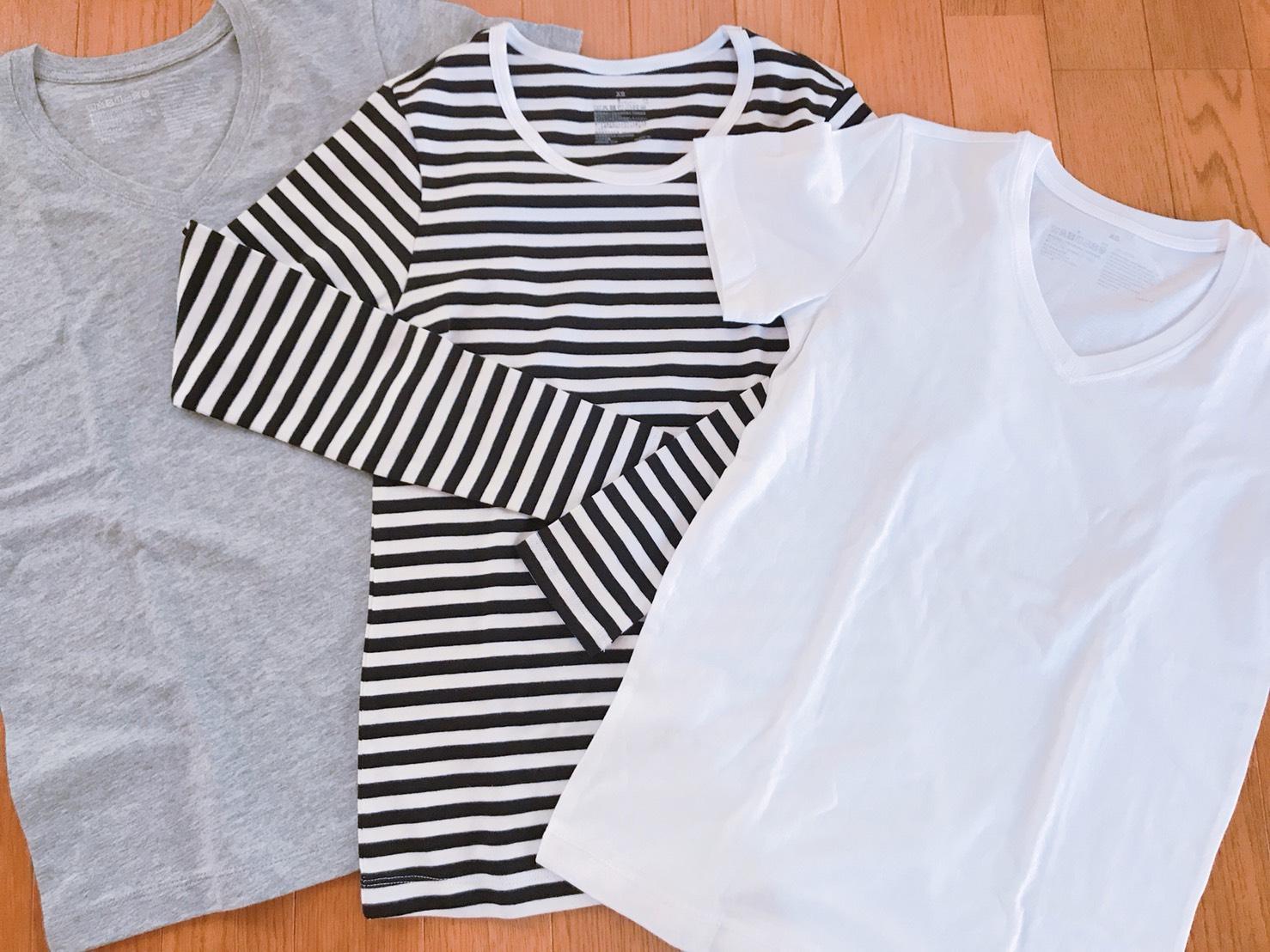 無印良品Tシャツ